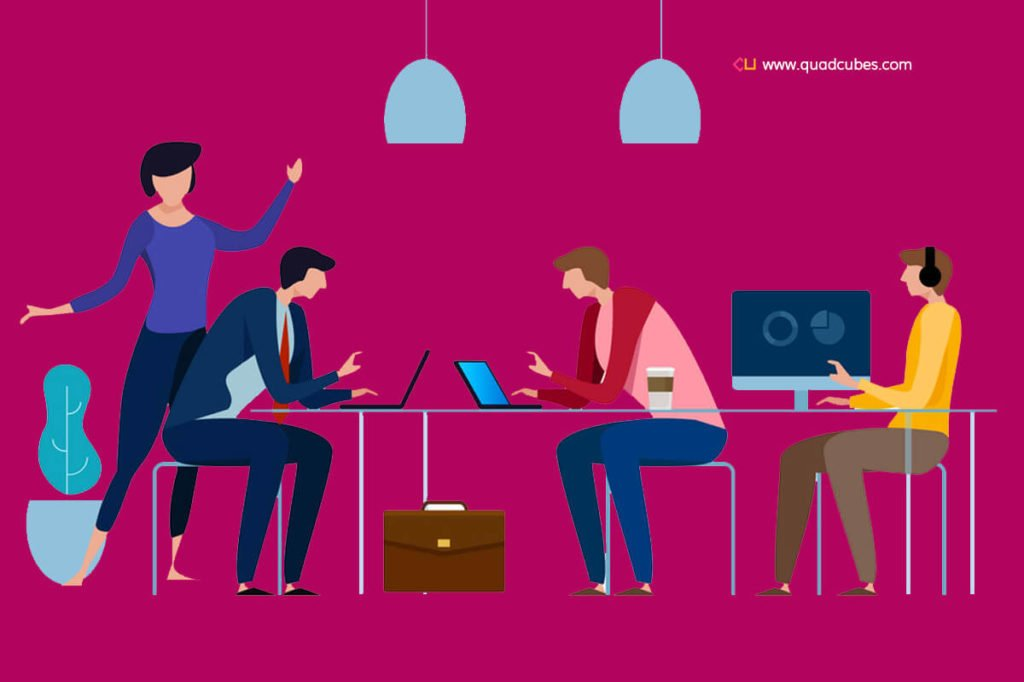 Marketing Team - Quadcubes