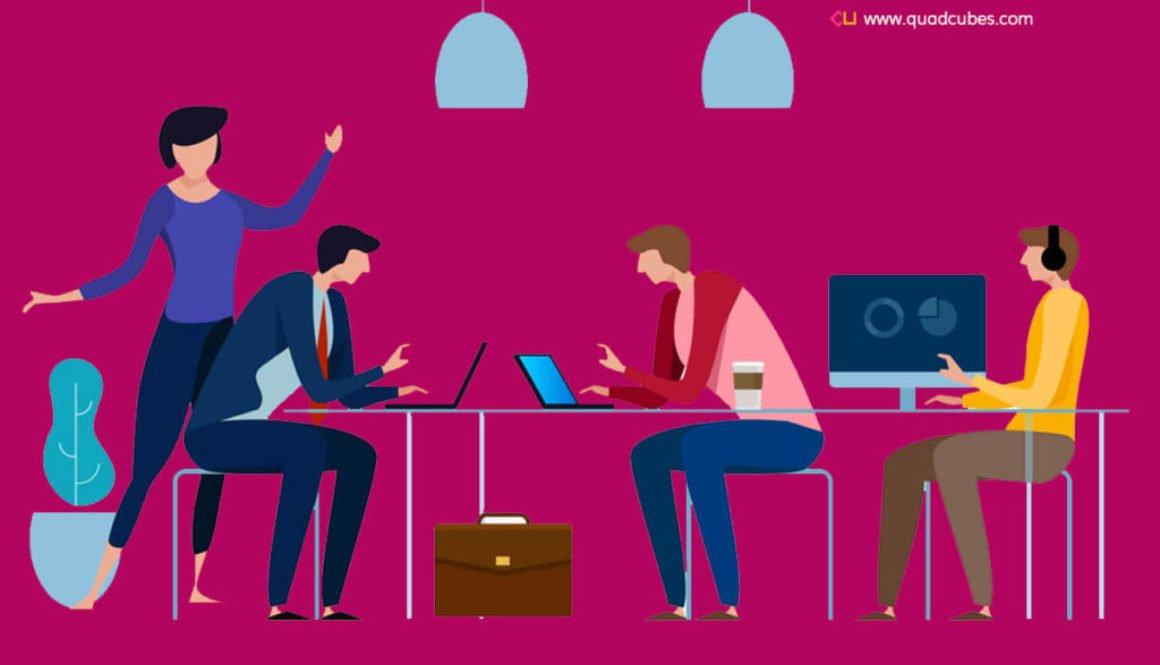 Marketing Team - Quadcubes