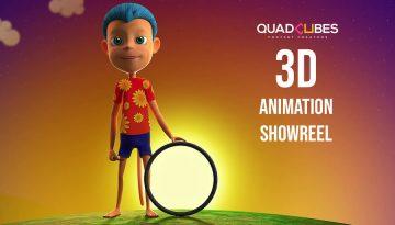3d animation showreel quadcubes