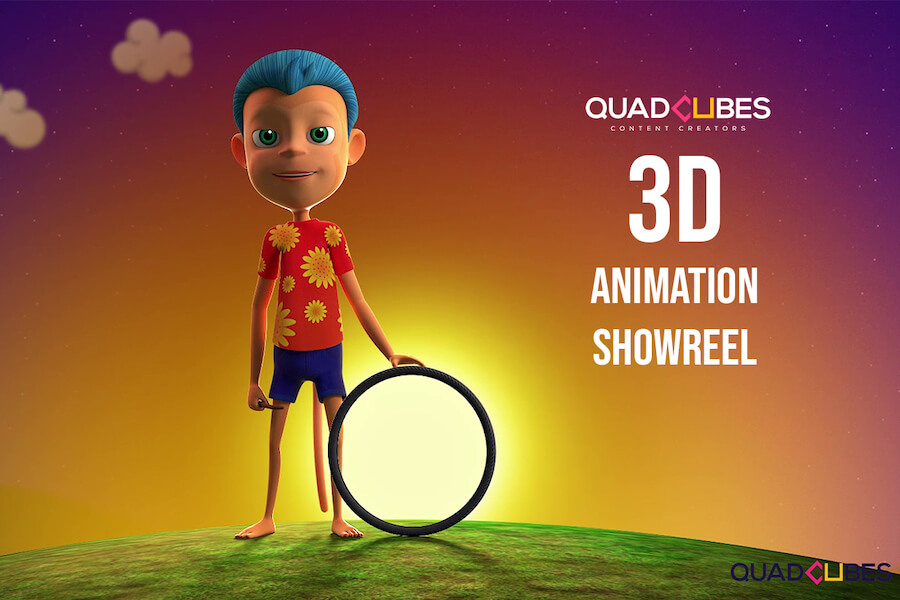 3d animation showreel quadcubes